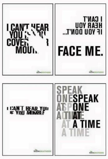 Self-advocacy posters