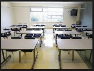 classroom empty