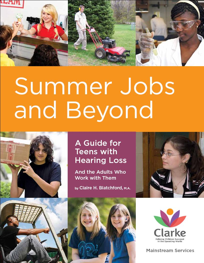 success for kids hearing loss summer jobs and beyond for
