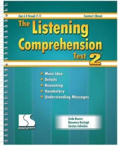Listening Comprehension Test 2