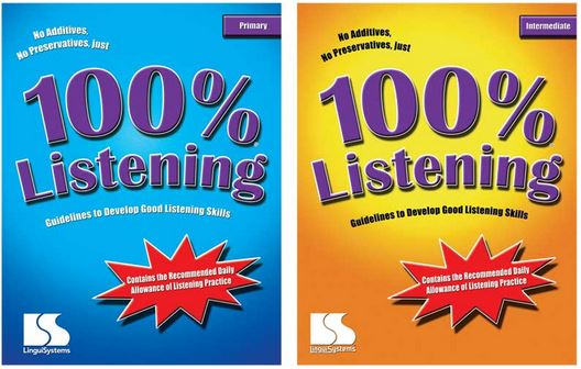 100 percent Listening books