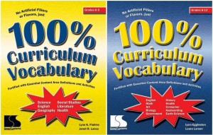 100 percent Curric Vocab