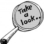 Take a Look magnifying glass