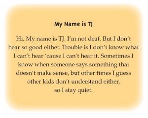 My Name is TJ
