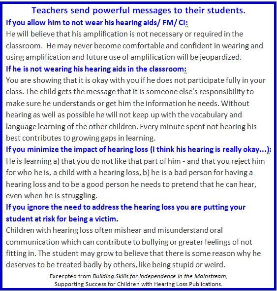 Teacher attitudes