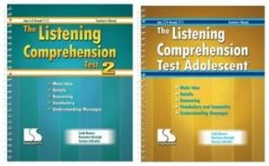 Tests of Listening Comprehension