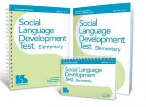 SLDT test social language