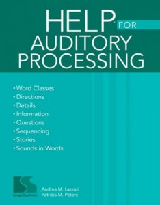 HELP for Auditory Processing