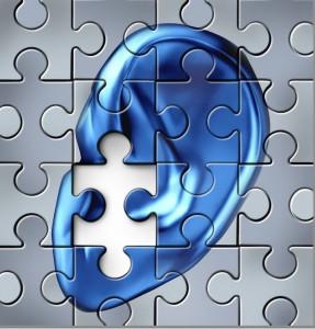 Puzzle piece ear