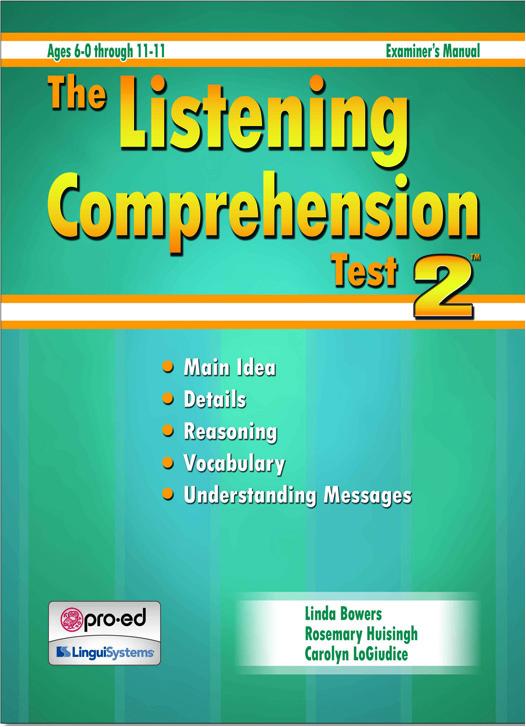 Listening Comprehension Test 2