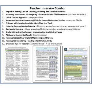 Teacher Inservice Combo