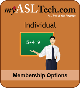 myASLTech Individual Membership