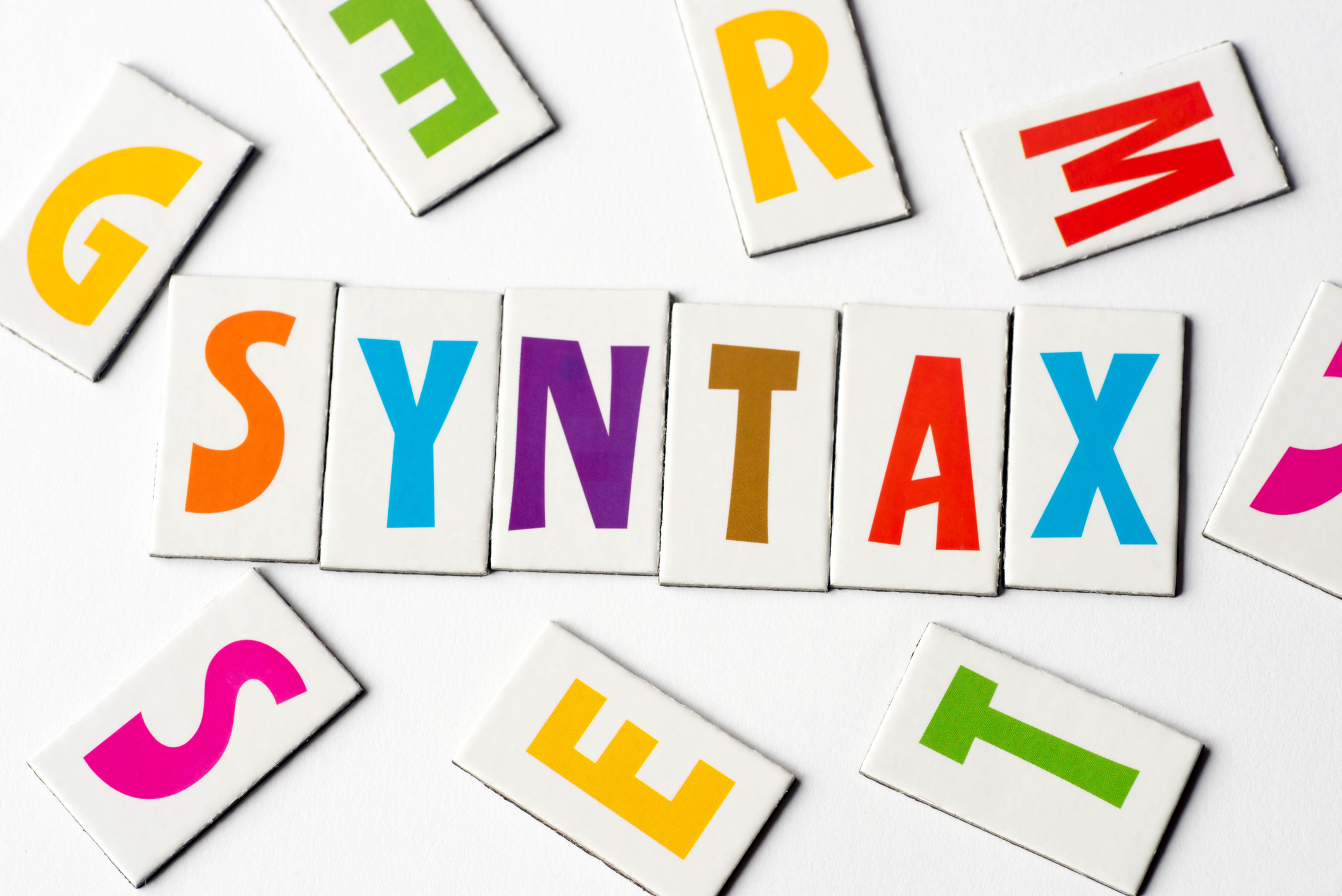 Missing Bits Results in Syntax Deficits