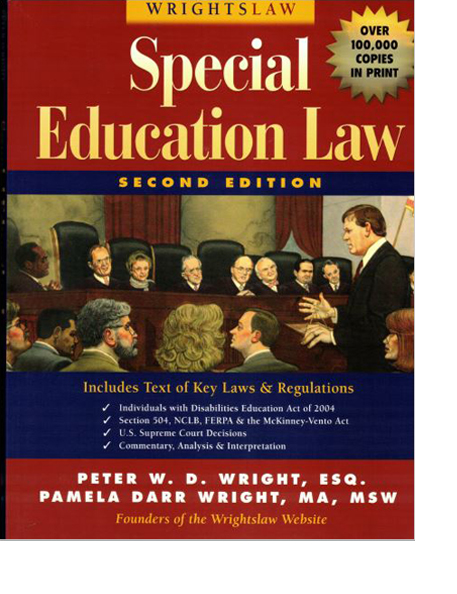 Special Education Law, 2nd Edition