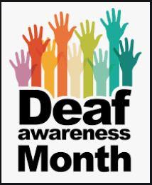 Sept is Deaf Awareness Month